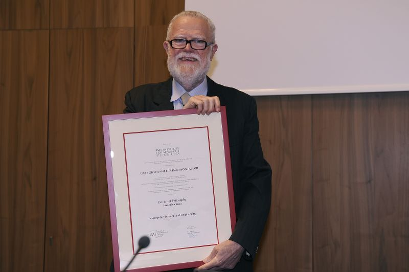 IMT Graduation and Honorary Doctorate Award Ceremony for Prof. Ugo Montanari