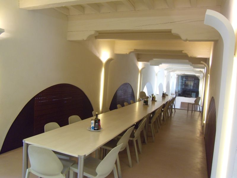 The canteen in the San Francesco complex.