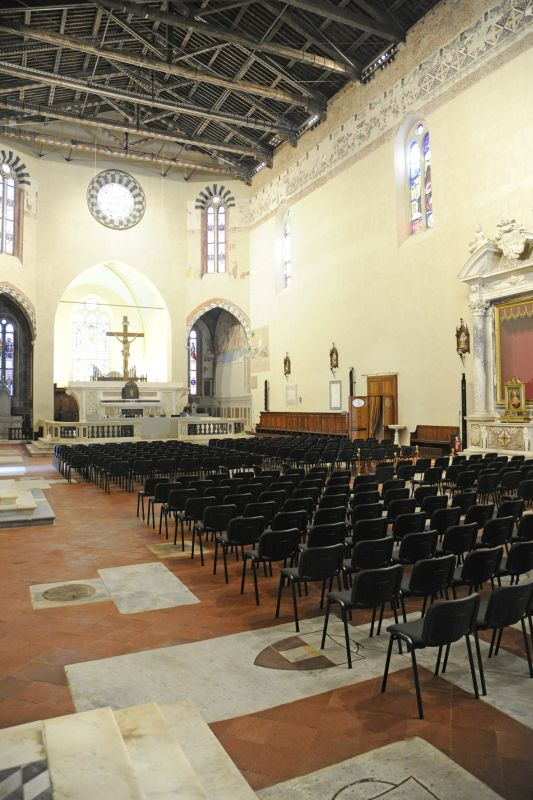 A glimpse inside the San Francesco Church. (Foto Alcide Lucca)